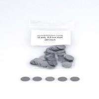 mashpaper Metallplättchen 15x0,3mm, magnethaftend