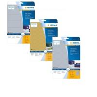 HERMA Folien-Etiketten A4 in silber und gold
