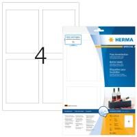 HERMA 8882 Flaschenetiketten, Inkjet, A4, 90 x 120 mm