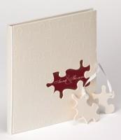 Gästebuch Hochzeit Puzzle - 23x25 cm / walther GB-173