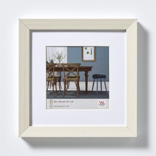 Fiorito Holzrahmen 30x30 cm, weiss