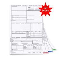 mashpaper CMR Frachtbrief für Laserdrucker mit Firmeneindruck