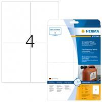 HERMA 4576 Folienetiketten weiß wetterfest 105,0 mm x 148,0 mm