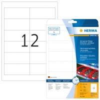 HERMA 4574 Folienetiketten weiß wetterfest 97,0 mm x42,3 mm