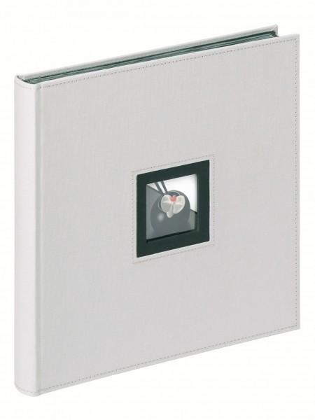 Designalben Black and White, grau 30X30 cm