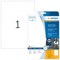 HERMA 4577 Folienetiketten weiß wetterfest 210,0 mm x 297,0 mm