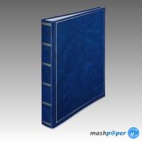 Fotoalbum Ringalbum basic line blau / HENZO 1629407