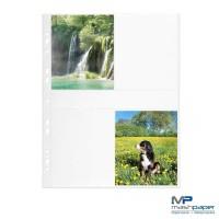 Fotohüllen 9x13 cm Fotosichthüllen weiß hoch