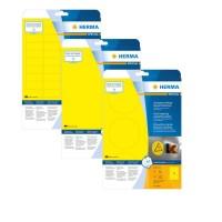 HERMA gelbe Wetterfeste Folien-Etiketten A4