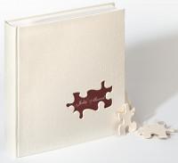 Fotoalbum Puzzle - Hochzeitsalbum 28x30,5 cm / walther UH-173