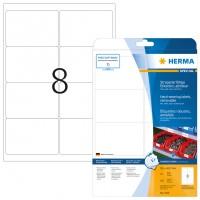 HERMA 4575 Folienetiketten weiß wetterfest 99,1 mm x 67,7 mm
