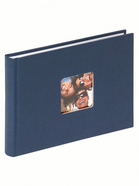 Designalbum Fun blau, 22X16 cm
