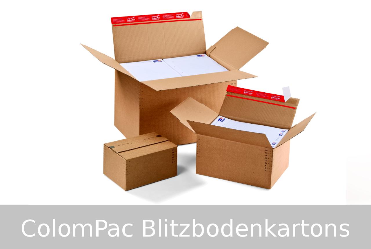 Colompac-Blitzbodenkartons