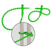 mashpaper Kugelkabelbinder wiederverschließbar grün
