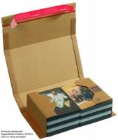ColomPac DVD-Versandverpackung braun CP 020.06