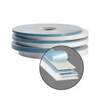mashpaper Spiegelklebeband weiß 0,8 mm PE-Schaum