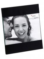 Walther Design Ava Bilderrahmen für Portrait, Portraitrahmen 10x15, schwarz matt walther