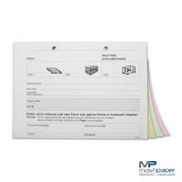 Palettenschein Block Formular Vordruck Querformat DIN A5