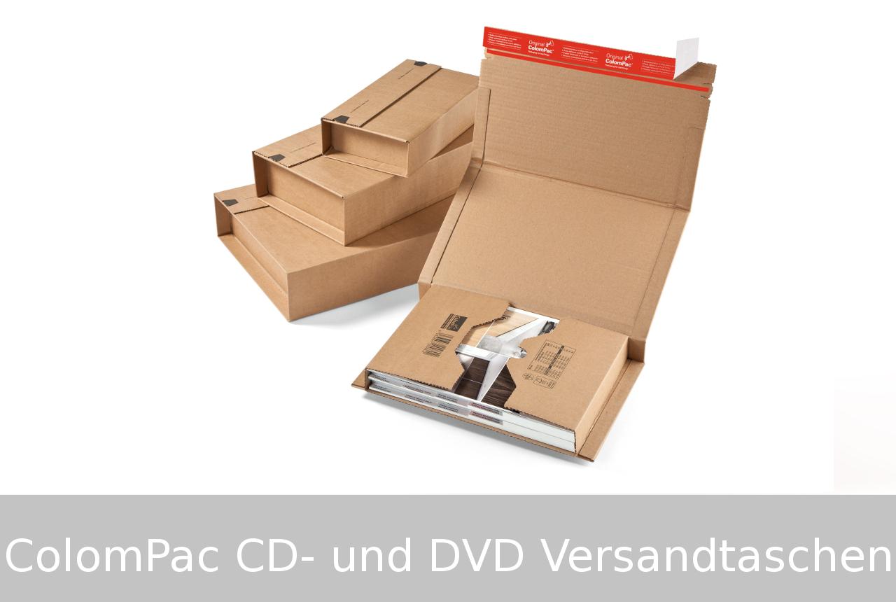 Colompac-CD-DVD-Versandverpackungen