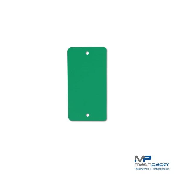 66000101 Kunststoffanhänger grün papierumklebt 65x120_14187