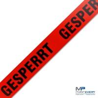 mashpaper GESPERRT Klebeband Packband rot 50mmx66m