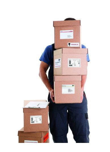 Herma-Paketlabel
