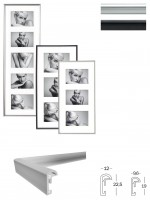 Walther Design Galeria Kst.Galerie, 3X13X18, WEISS