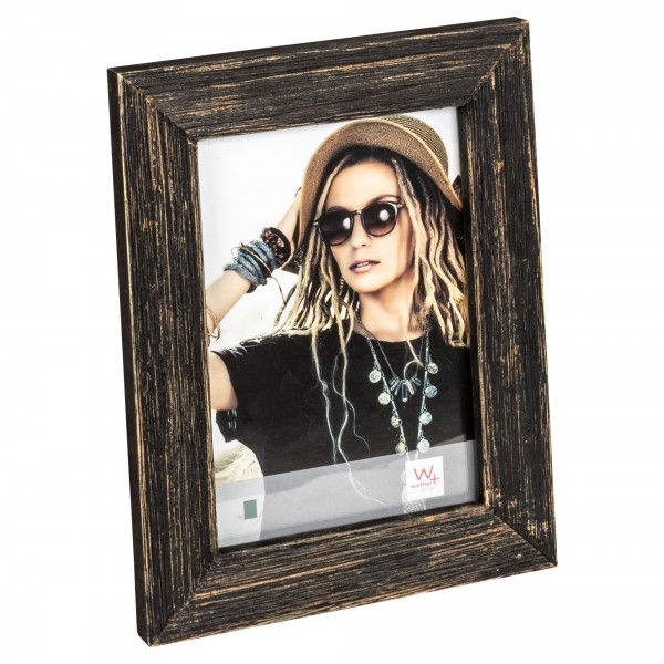 Lou Portraitrahmen, 13X18 cm, schwarz