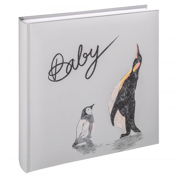Babyalbum Pat, 26x25 cm, Design Pinguin