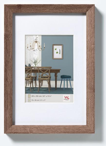 Fiorito Holzrahmen 24x30 cm, nussbaum