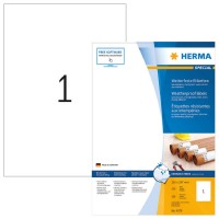 HERMA 4379 SPECIAL Etiketten Spezialpapier witterungsbeständig weiß 210,0x297...