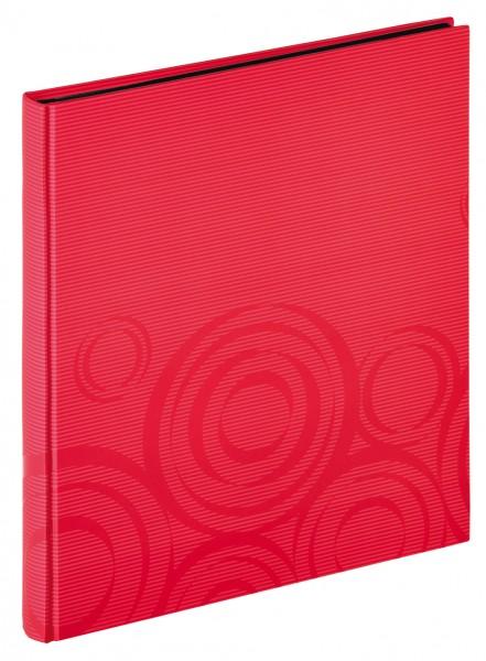 Designalbum Orbit, rot, 30x33 cm