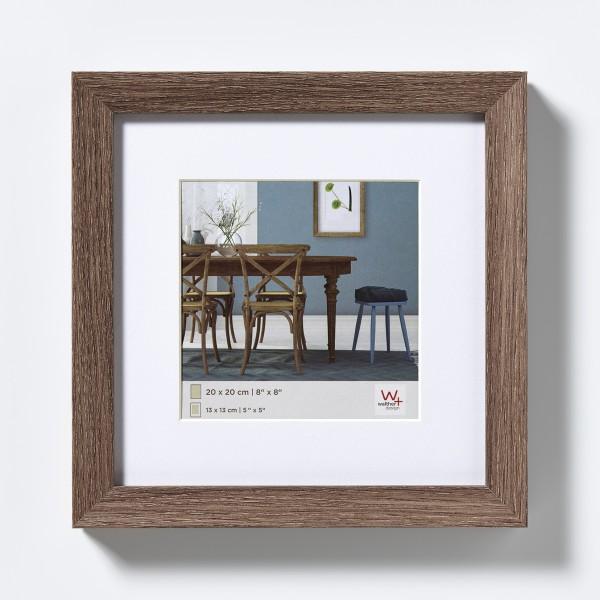 Fiorito Holzrahmen 20x20 cm, nussbaum