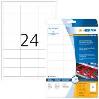 HERMA 4573 Folienetiketten weiß wetterfest 66,0 mm x 33,8 mm