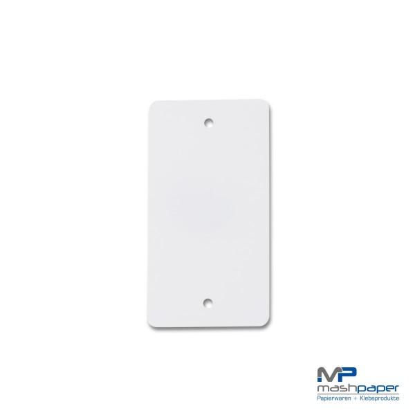 660121 Kunststoffanhänger weiß 55 x115mm_14425