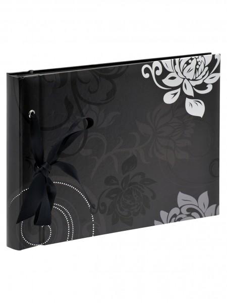Designalbum Grindy, schwarz, 23,5X16