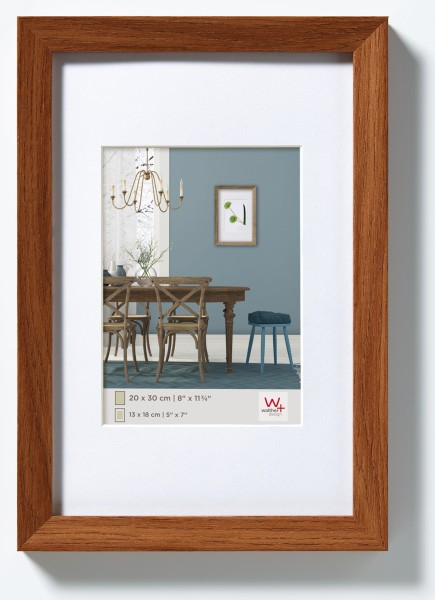 Fiorito Holzrahmen 10x15 cm, eiche dunkel