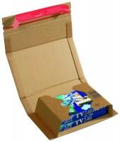 ColomPac DVD-Versandverpackung braun CP 020.02