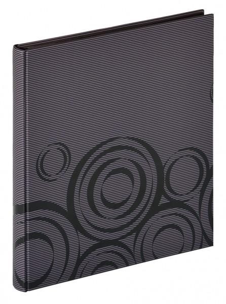 Designalbum Orbit, schwarz, 30x33 cm