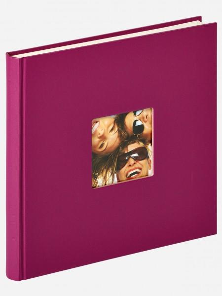 Designalbum Fun, violett, 26X25 cm