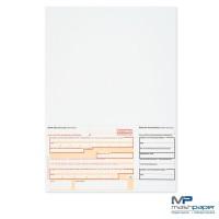 SEPA-Überweisungsformular inkl. Quittung rechts