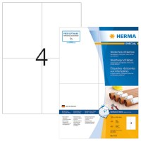 HERMA 4377 SPECIAL Etiketten Spezialpapier witterungsbeständig weiß 105,0x148...