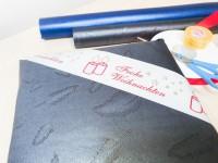 mashpaper WEIHNACHTEN Klebeband Packband mit Kerzen