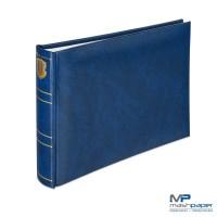 Fotoalbum Basic Line blau 21,5x16 cm / HENZO 10.002.07 - 1000207