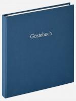 Walther Design Gästebuch Fun, blau, 26x25 cm