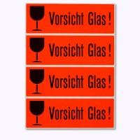 Warnetiketten Vorsicht Glas! HERMA 6750