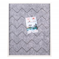 Walther Design Sympathy Memoboard, 40x50 cm, weiss