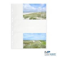 Fotohüllen 10x15 cm Fotosichthüllen weiß quer