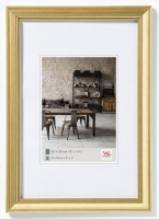 Walther Design Lounge Designrahmen 020X030 cm GOLD