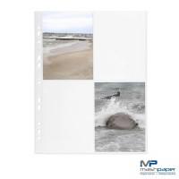 Fotohüllen 10x15 cm Fotosichthüllen weiß hoch